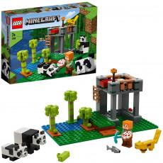 LEGO Minecraft 21158  Grădinița panda