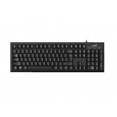 Tastatură Genius KB-100 Black, USB (9359843578735)