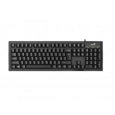 Tastatură Genius KB-102 Black, USB (9359843578742)