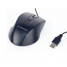 Mouse Gembird MUS-4B-02, Black, USB
