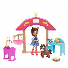 "Mattel Enchantimals GJX23 Set de joca ,,Gradinita pentru animalute"""