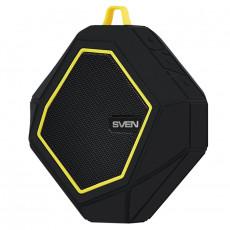 Boxă portabilă Sven PS-77, 5 W, Black/Yellow