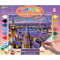 Sequin Art Paint by Numbers SQ0422 Set creativ ,,Londra''