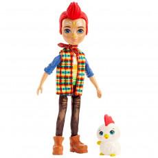 Mattel Enchantimals GJX39 Papusa ,,Redward Rooster Cluck''