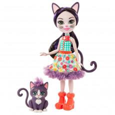 Mattel Enchantimals GJX40 Papusa ,,Ciesta Cat Climber''