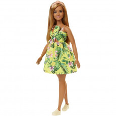 Mattel Barbie Fashionistas FXL59 Papusa ,,Yellow Dress''