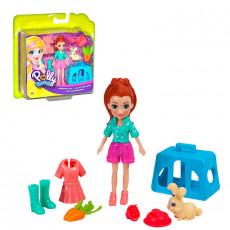 Mattel Polly Pocket GDM11 Set de joaca ,,Lila si Mascota sa''