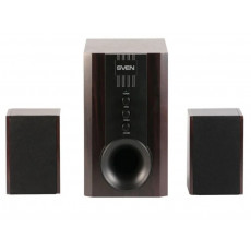 Sistem audio 2.1 Sven SPS-821, 40 W, Dark Wooden/Black