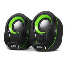 Boxe 2.0 Sven 290, 5 W, Black/Green