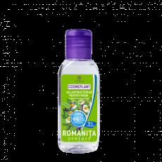 Gel antibacterian pentru maini cu romanita 50ml, Viorica Cosmetic