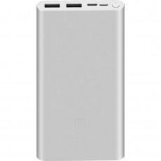Power Bank 10 000 mAh Mi Power Bank 3 2xUSB A + USB C, Silver