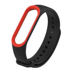 Curelușă Xiaomi Mi Band 3/4, Black/Red