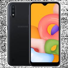 Smartphone SAMSUNG Galaxy A01 (2 GB/16 GB) Black