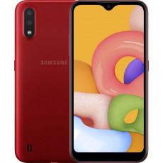 Smartphone SAMSUNG Galaxy A01 (2 GB/16 GB) Red