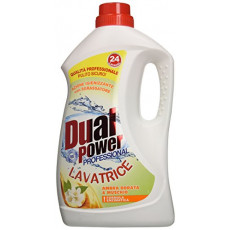 Detergent lichid Dual Power Golden Amber & Musk, 1,68 L