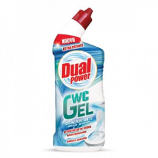 Gel pentru WC Dual Power Disincrostante WC Gel, <1 L