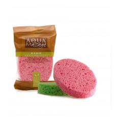 Burete pentru baie pentru copii Aqua Massage Kids Bamby din celuloza ovala