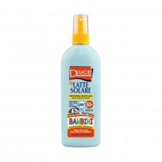 Lapte-Spray pentru protecție solară pentru copii Delice Solaire Bambini SPF50+