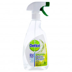 Spray antibacterian Dettol Power & Fresh, 0.5 L