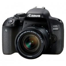 Aparat foto Canon EOS 800D, EF-S 18-55mm f/3.5-5.6 IS STM KIT