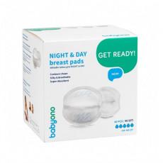 Absorbante pentru lapte BabyOno NIGHT&DAY, 40 buc.