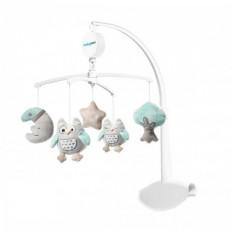 BabyOno 0443 Carusel pentru pătuc Owl Sofia, muzical cu jucării moale