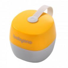 Husă pentru suzetă BabyOno NATURAL NURSING Yellow