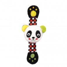"""BabyOno 0635 Brațară cu zornaitoare """"Panda Archie"""" moale"""