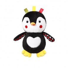"""BabyOno 640 Jurărie de pluș """"Penguin Connor"""" cu zornaitoare"""