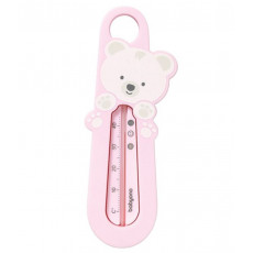 Termometru pentru baie BabyOno Ursuleț, Pink
