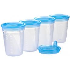 Recipient pentru lapte BabyOno STORAGE 4 buc.