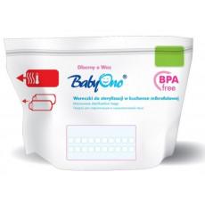 Pungi pentru sterilizare în cuptorul cu microunde BabyOno 5 buc.