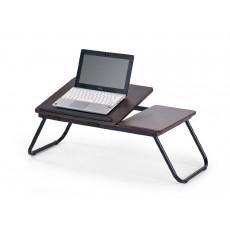 Măsuță pentru laptop Halmar B-19, Black/Brown