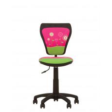 Fotoliu birou Nowy Styl Ministyle Flowers, Black