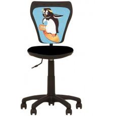 Fotoliu birou Nowy Styl Ministyle Penguin, Black
