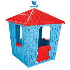 Joacă case Pilsan STONE 3+, Голубой/Красный
