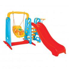 Детские горки Pilsan Горка 3х1 177 × 207 × 127 cm, Красный