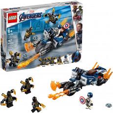 Lego Super Heroes 76123 Constructor Lego Captain America Atacul Outriderilor