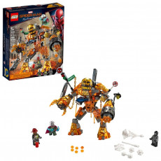 Lego Super Heroes 76128 Constructor Lego Spider-Man Batalia cu Molten Man