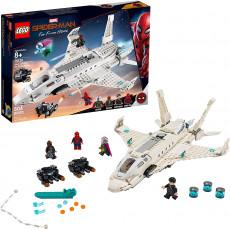 Lego Super Heroes 76130 Constructor Lego Avionul Stark și atacul dronelor
