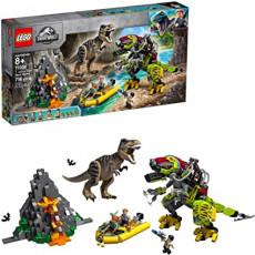 Lego Jurassic World 75938 Constructor Lego Lupta T-rex contra Dino-Mech