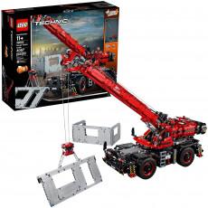 Lego Technic 42082 Constructor Lego Macara pentru teren dificil