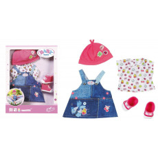 "Zapf Creation 824498- Set de hainuțe ""Colecția Denim"" pentru păpușa Baby Born"