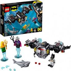Lego Super Heroes 76116 Constructor Lego Batsubmarinul Batman și conflictul subacvatic