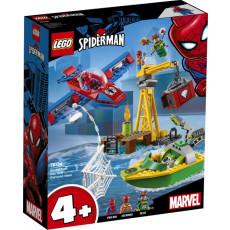 Lego Super Heroes 76134 Contructor Lego Spider-Man Doc Ock și furtul diamantelor