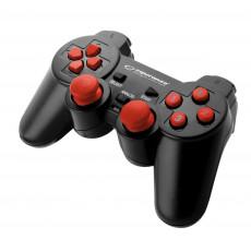 GamePad Esperanza Warrior EGG102R, Black/Red