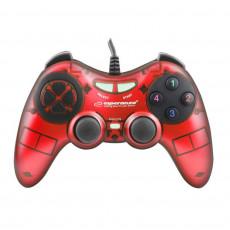 GamePad Esperanza FIGHTER EGG105W, Red