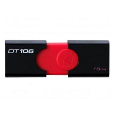 16 GB USB 3.0 Stick USB Kingston DataTraveler 106, Black (DT106/16GB)
