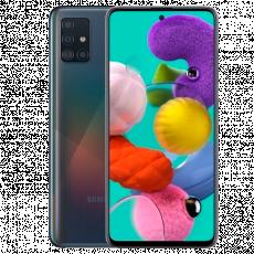 Smartphone SAMSUNG Galaxy A51 (4 GB/64 GB) Black