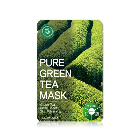 Tosowoong Pure Green Tea Mask Pack - Mască cu extract de ceai verde